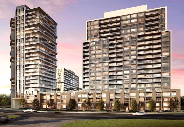 Connectt Milton Condos Rendering